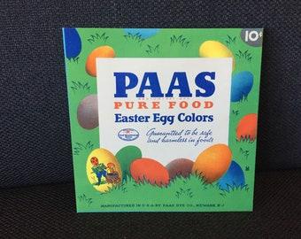 1930s PAAS Easter Egg Dye Envelope - Popeye - Blondie & Dagwood - Katzenjammer Kids