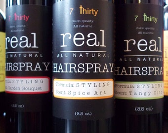Super-Natural Salon Quality STYLING Hairspray Formulated by a Stylist - FREE SHIPPING!!!