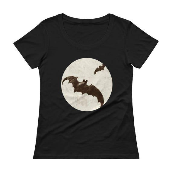 Bats Ladies' Scoopneck T-Shirt