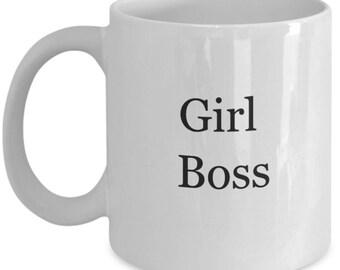 Gift for boss, boss girl mug, boss girl coffee mug, girl boss, boss girl gift, gift for girl boss, girl boss gift, lady boss mug