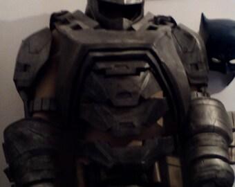 Batman v Superman foam armoured suit.
