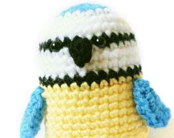 Amigurumi Pattern - Blue Tit - Bird Crochet Pattern