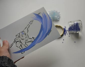Avatar Aang painting