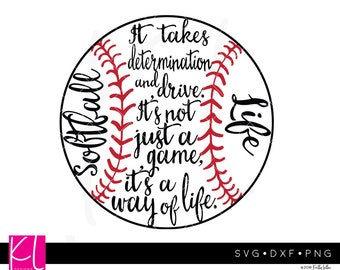 Softball Life svg, Softball svg, Softball Design, Softball svg files, Softball Mom svg, Softball Cut File, Softball Saying, Softball