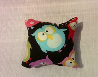 Owl Catnip Cat Pillow