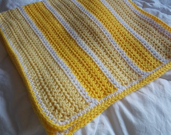 Shades of Yellow Baby Blanket
