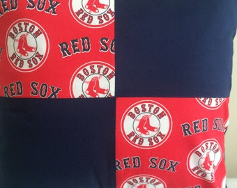 Boston Red Sox pillow cover