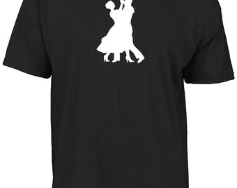 Ballroom dance silhouette t-shirt