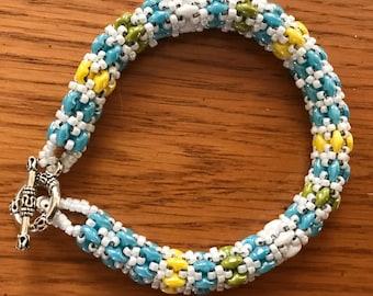 Spring colors bracelet