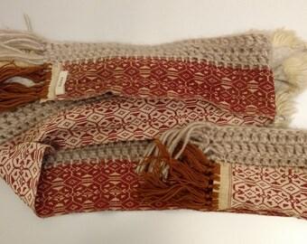 Wide scarf, HAUTE collection AW 2000 - Sciarpa Haute, collezione AI 2000