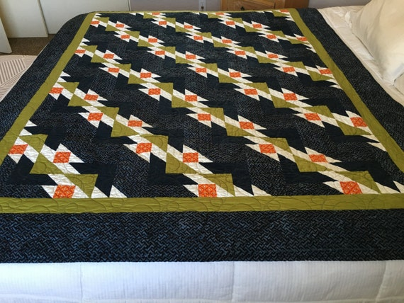 CHANGING IT UP - Beautiful Handmade Quilt