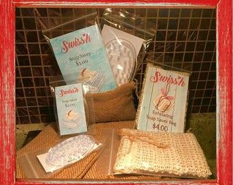SOAP SAVER BAGS & discs
