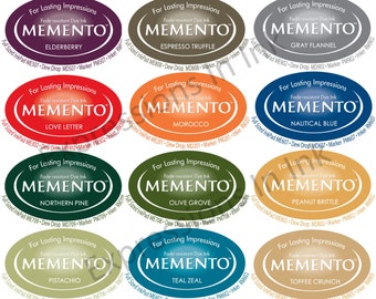 NEW! Tsukineko Memento Full Size Ink Pad - Choice of Colors