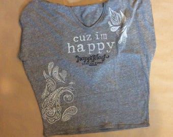 Cuz I'm Happy Hooded Shirt