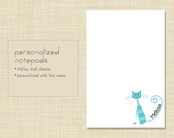Personalized Notepad - Sittin' Pretty Kitty