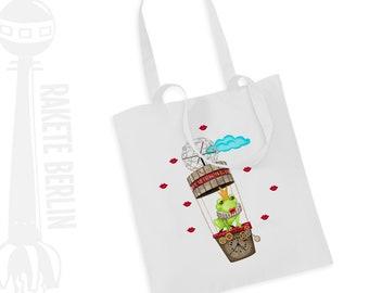 Tote Bag   ' Flying Frog Prince '