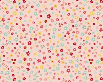One Yard of Sweetest Petals in Pink from The Sweetest Thing by Zoe Pearn