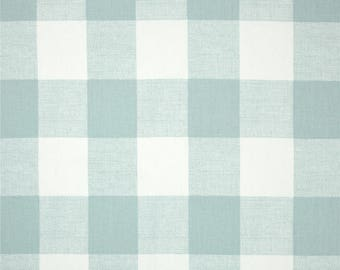 Buffalo Check Fabric - Gingham Fabric - Fabric Yardage - Premier Prints Anderson Snowy - Fabric by the Yard