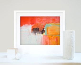 Abstract Art Print, Modern Art Painting, Contemporary Art, Colorful Wall Art