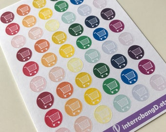 A42 - Shopping Planner Stickers