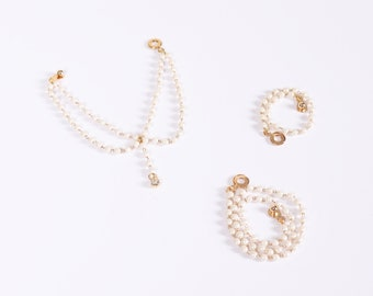 SD_Pearl Necklace Set