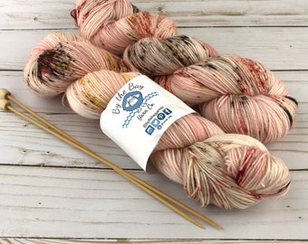 Because I Said So #momlife Hand Dyed Yarn Superwash Merino Nylon  sock knitting wool crochet hand dyed Texas Indie