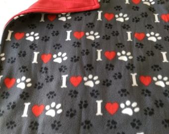 Dog Blanket Double Fleece