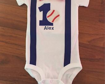 Baseball 1st birthday, baseball boy birthday outfit, Baby boy first birthday, baseball party, Baby boy second birthday, baseball cake smash