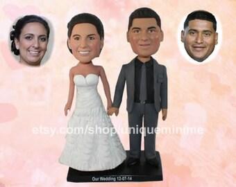 Personalized Wedding, Unique Wedding Gift for couples, Custom Wedding Gift, Gift for Couple,   Wedding, custom bobblehead doll, Anniversary