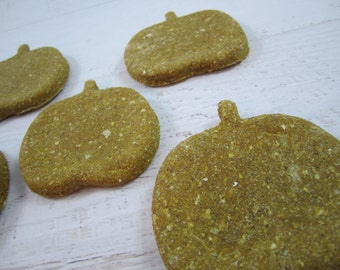 Pumpkin Puppers Gourmet Dog Treats ~ Homemade All Natural Bakery Dog Biscuits ~ Pumpkin Shaped Dog Cookies ~ Healthy Dog Snacks ~ USA Made
