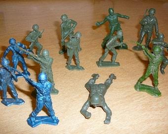 Soldats de l'armée Vintage hommes