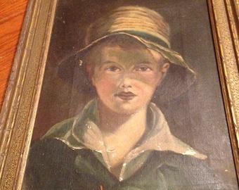 Blue Boy - Original Oil Painting