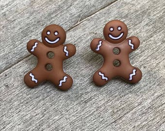 Gingerbread Earings
