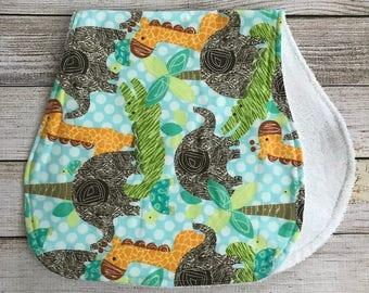 Safari Burp Cloth