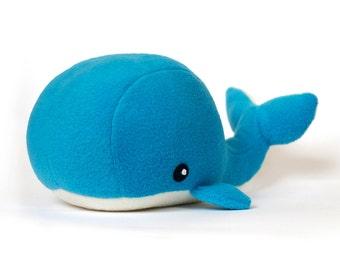 PDF sewing pattern Whale plush toy softie