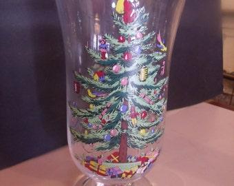 Christmas Candle Holder/Vase (# 70/6)