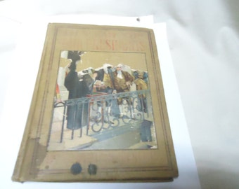 Vintage 1913 The Lives Of The Presidents Book by Charles Morris, collectable, hardback