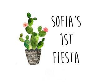 Bachelorette Party Favor, Bachelorette Tattoo, Bachelorette Party Tattoo, Fiesta Party, Fiesta Birthday Party, Fiesta Party Favor, Cactus