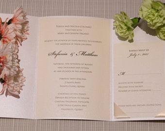 Gold Wedding Invitation, Gold Invitation, Wedding Invitation, Elegant Invitations, Elegant Wedding Invitation, Elegant Invitation, invites