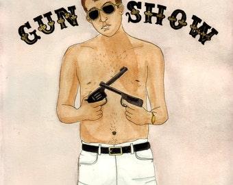 Gun Show Digital Print