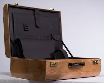 Steckel suitcase Aircase Burl wood Edition