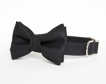 Bowtie Dog Collar - Black Tie Affair