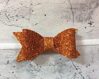 Glitter bow, baby headband, cotton bow, custom bow, girls hairbow, toddler headband, girls hairclip, baby headband, toddler bow, bandana bow