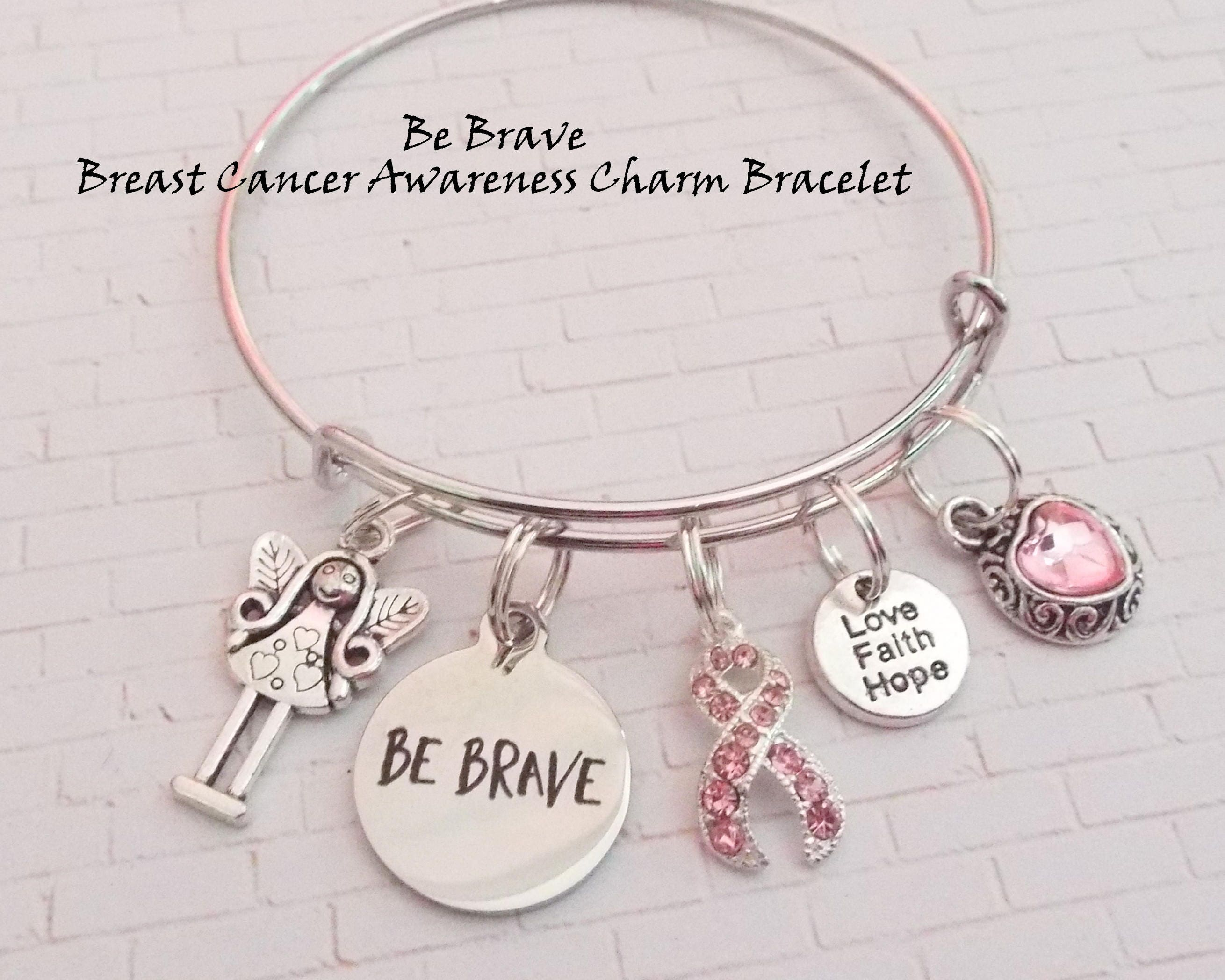 com breast paracord store pin bracelet locket survivor living squareup cancer paracordcreationstx