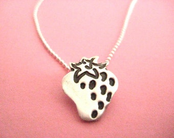 SALE 20 Percent OFF Strawberry Artisan Necklace