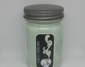 Citrus Basil Soy Wax Candle 12 oz