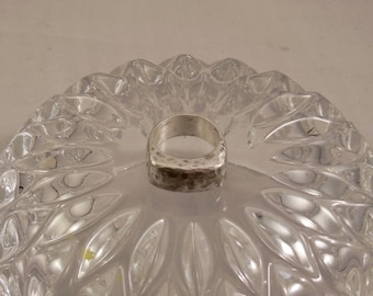 Silver lost wax cast ring size 7 1/2