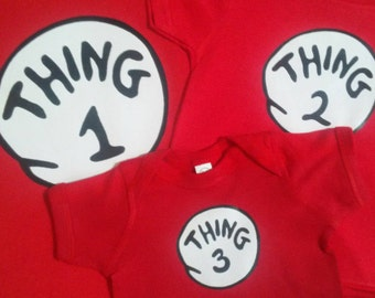 Thing 1 Thing 2 3 4 5 9 16 etc. infant toddler youth adult