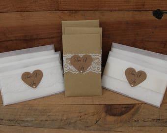 Tears of joy wedding tissue favours