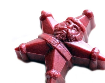 Santa Star Soap - A Christmas Soap